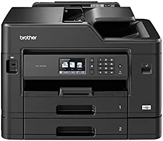 Brother MFC-J5730DW Colour Inkjet Printer - All-in-One, Wireless/USB 2.0/Network, Printer/Scanner/Copier/Fax, 2 Sided Prin...