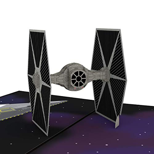 Star Wars TIE Fighter Pop Up Card, 3D Card, Birthday Card, Greeting Card