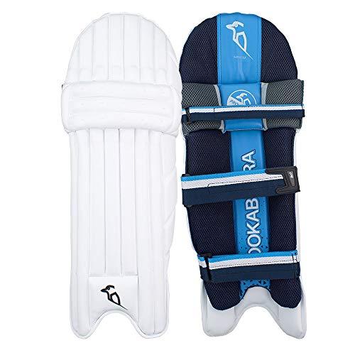 KOOKABURRA 2019 Rampage 2.0 Cricket-Schlagpolster Beinschützer weiß/blau, weiß, Left Hand Youth