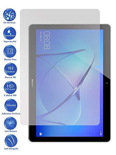 Todotumovil Protector de Pantalla Huawei Mediapad T5 10 de Cristal Templado Vidrio 9H para Tablet