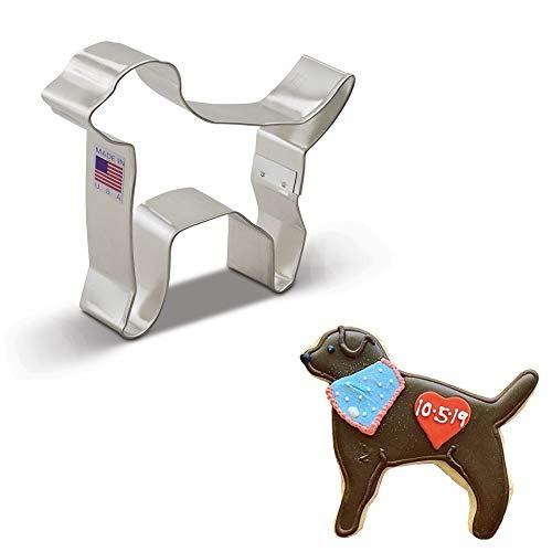 Ann Clark Cookie Cutters Labrador Dog Cookie Cutter, 4.4'