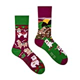 Spox Sox Casual Unisex - mehrfarbige, bunte Socken für Individualisten, Gr. 40-43, Lamas