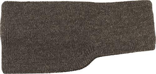 SCAMODA ® Diadema unisex con protección para las orejas, de punto, para invierno, fabricada en Alemania gris Talla única