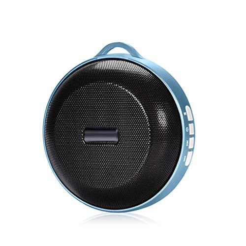 Bluetooth luidspreker, draagbare outdoor TF-kaart oproeptijd is 33 uur draadloze audio subwoofer Sound Bot (kleur: blauw)