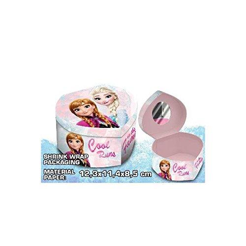 Disney Frozen Joyero de cartón con Forma corazón (Kids Euroswan WD19043)