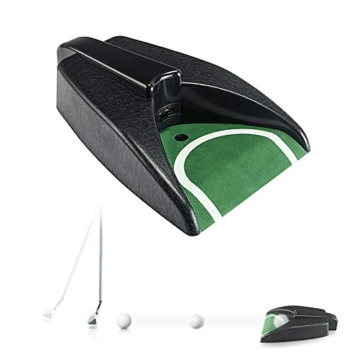 Golf-Putting-Trainer, Indoor-Golf-Putting-Cup, Automatische Golf-Rückgabemaschine für Indoor-Golf-Putting-Übungen