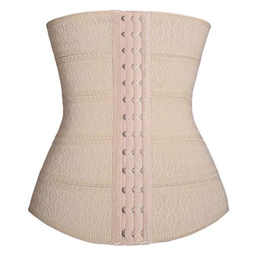 enioysun Korsett Damen Gewichtsverlust Korsett Taille Trainer Brustkorsett Gewichtsverlust Bodyshaper für Frauen (Color : Beige, Size : Large)