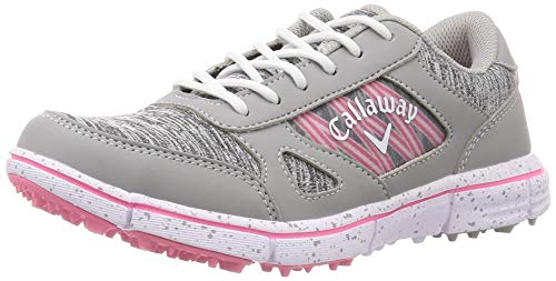 [キャロウェイ フットウェア] レディース ゴルフシューズ 軽量 (スパイクレス) [ 247-0996802 / SOLAIRE WM 20 ] ゴルフ 練習 靴 020_グレー 23.5 cm