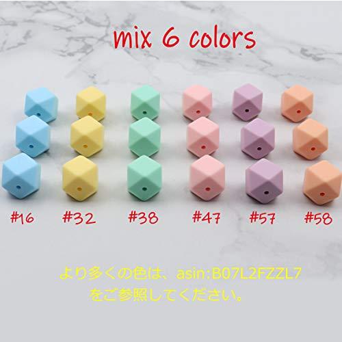 SHIWU 歯固め おしゃぶり シリコーン製 キャンディーの色