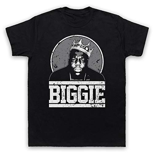 The Guns Of Brixton Notorious Big Biggie Tribute Herren T-Shirt, Schwarz, 5XL