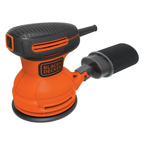 BLACK+DECKER Random Orbit Sander, 5-Inch (BDERO100)