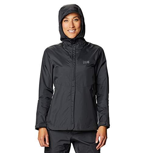 Mountain Hardwear Damen Acadia Jacke Dark Storm L
