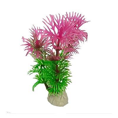 Godagoda Artificial Aquatic Plants, Artificial Fish Tank Decorations, Aquarium Artificial Plastic Plants Decor Aquarium Landscape 1pcs by HelloCrafts