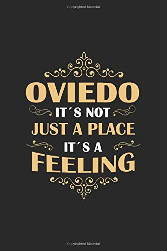 Oviedo Its not just a place its a feeling: Spain   notebook   120 pages   lined