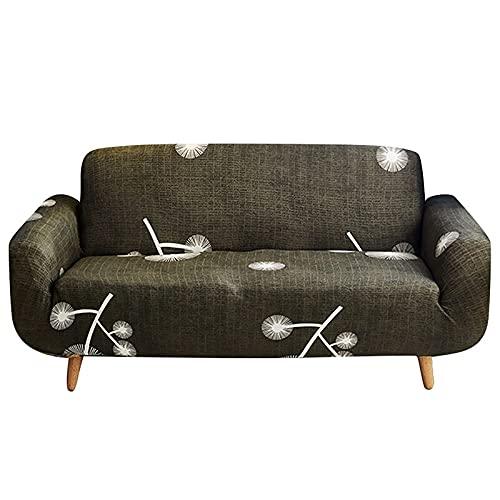 Juego de Fundas elásticas para sofá para Sala de Estar, Toalla de sofá, Fundas de sofá Antideslizantes para sofá, Funda 1/2/3/4 plazas A8, 3 plazas