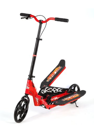 Zike Hot Shot Scooter (Red, 22 1/2-Inch W x 40-Inch L x 34-Inch H)