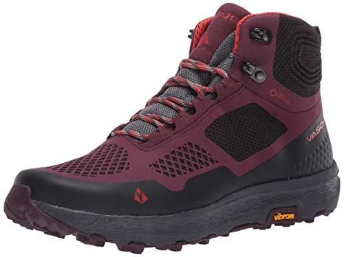 Vasque Women's Breeze LT Low GTX Gore-Tex Waterproof Breathable Hiking Shoe, Eggplant/Anthracite, 8