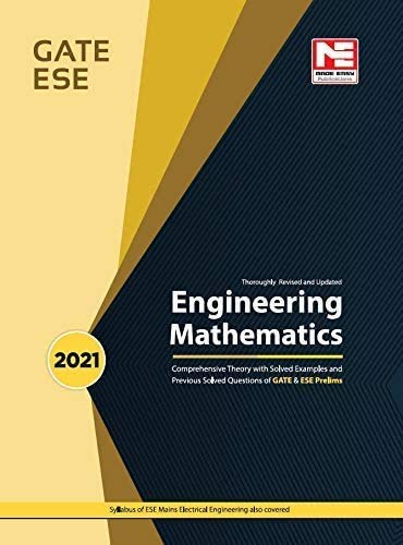 Engineering Mathematics for GATE and ESE (Prelims)-Theory and Previous Year Solved Papers