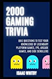2000 gaming trivia quiz questions to test your knowledge of legendary platform games, fps, arcade games, and side scrollers: 5