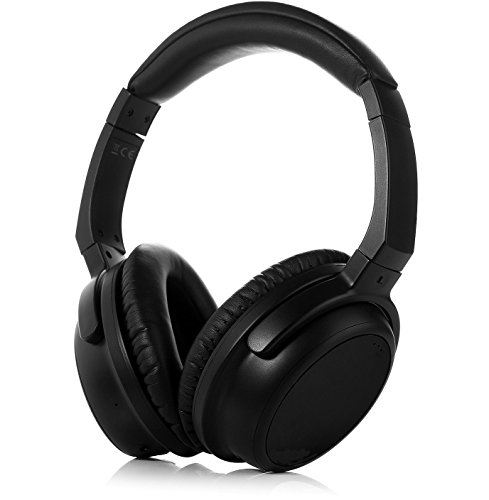 FeinTech AKH00400 FeinSound 1 Bluetooth 4.1 Auriculares con aptX Low Latency (baja latencia) ideal para Televisión y Vídeo color negro