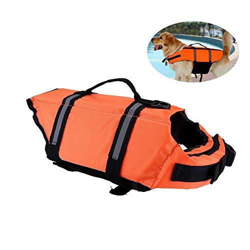 Fablcrew Chaleco Salvavidas para Mascotas Traje de Baño para Mascotas Chaleco Salvavidas Perro Traje de Baño Perro S