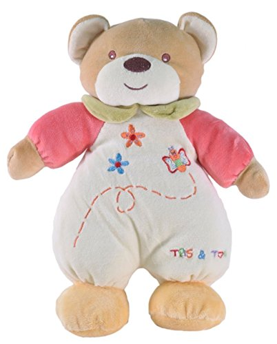 Tris&Ton Peluche osito infantil bebé niño niña, oso peluche mimos suave felpa modelo Mimos Miel (Trisyton)