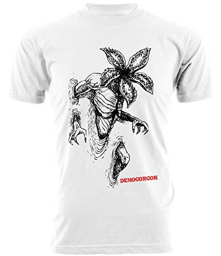 Tshirt Stranger Things - Demogorgon - Run - Serie TV
