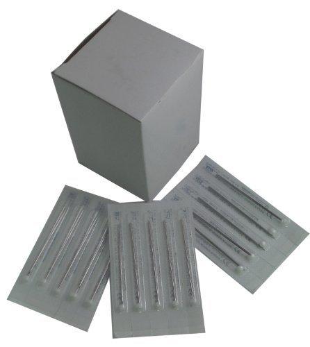 DCTattoo 16 G Calibre Hoja Agujas De Perforación Paquete De 50