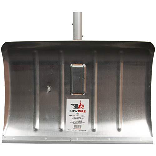 SHW-FIRE 59023 Schneeschieber Schneeschaufel Aluminium Ergonomisch mit Aluminium Stiel mit D-Griff - 5