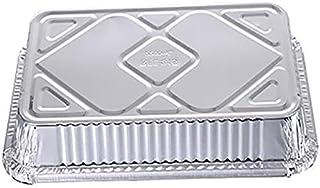 Wang shufang 10pcs jetable Barbecue Goutte à Goutte casseroles en Aluminium Foil Grease Recyclable Grill Catch Plateau for...