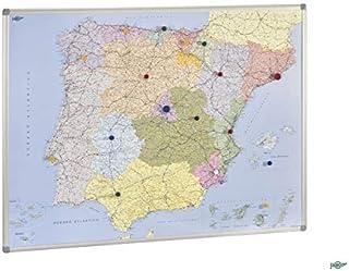 Amazon.es: mapa españa magnetico