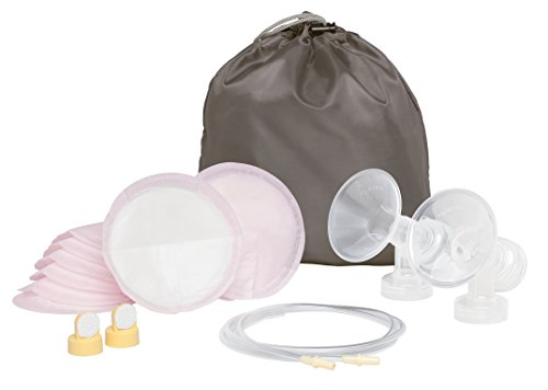 Medela Pump in Style Advanced Double Pumping Kit with Authentic Medela Spare Parts, Includes Breast Shields, Connectors, and Accessory Bag, Made Without BPA