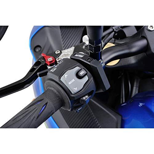 Daytona Bordsteckdose USB Slim mit Lenkerbefestigung, Unisex, Multipurpose, Ganzjährig, Kunststoff, schwarz