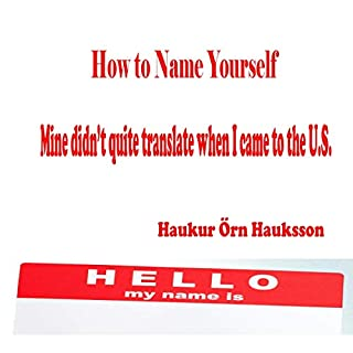 How to Name Yourself cover art