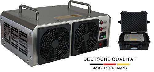 OSS Sixty O³ con cassa | Generatore di ozono con 60000 mg/h o 60 g/h di ozono in uscita | MADE IN GERMANIA | Supporto telefonico | Generatori di ozono OSS rimuovono odori, batteri e virus