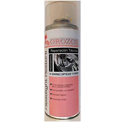 Suministros Ind Orozco Barniz para Opticas y Faros 1K en Spray 400ml.