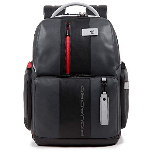 Piquadro Brief Business Backpack Leather 42 cm Notebook compartment