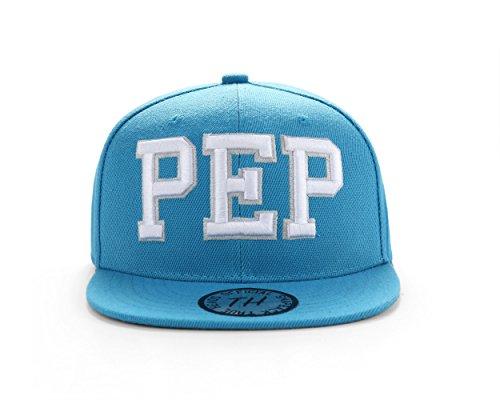 Pep Guardiola Bleu Football Snapback Casquette de baseball