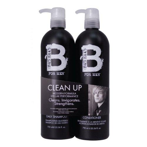 Tigi B For Men Clean Up Tween Duo Pack 2x750ml by TIGI