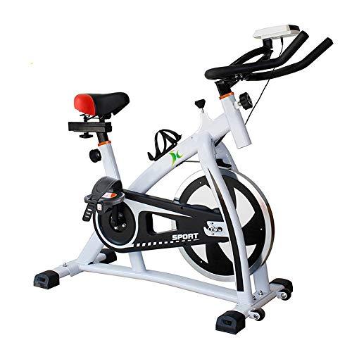 Heimtrainer Fahrrad für Zuhause,Indoor Cycle mit Intelligente App Elektromagnetisch Spinning Fahrrad,Ergometer Fahrrad Verstellbarer Widerstand Mit Rutschfestem Pedal Maximale Tragfähigkeit 160 kg