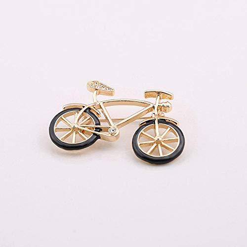 Moda Bicicletta Design Temperamento Spilla Spilla Cappotto Smalto Boutonniere Accessori Gioielli Spille