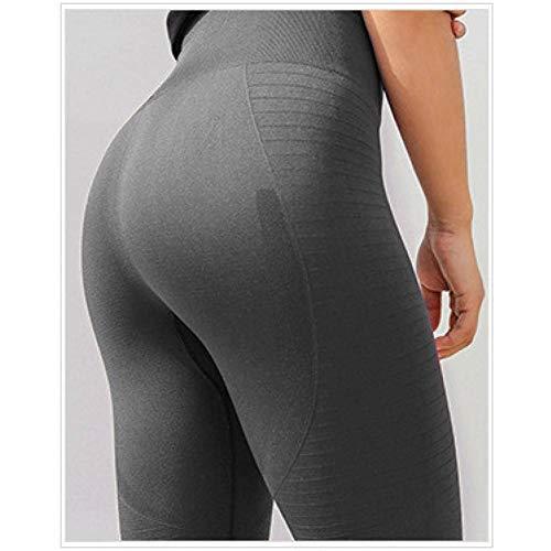Yundongyi Naadloze legging capri lengte flare atletische skinny sportlegging hoge elasticiteit lopen fitness yoga broek