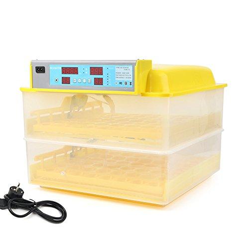 Newsmarts Digital Automatic Egg Incubator Hatcher, 112 Eggs Chicken Poultry Hatcher (EU Plug)