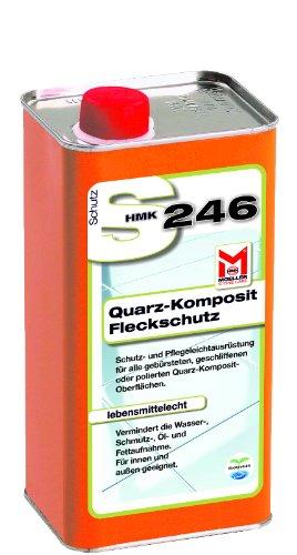 Moeller Stone Care HMK S246 Quarz-Komposit Fleckschutz Imprägnierung Versiegelung 1,0 Liter