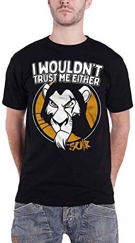 Camiseta de Hombre Rey León Scar 'No confiaría en mí Tampoco'