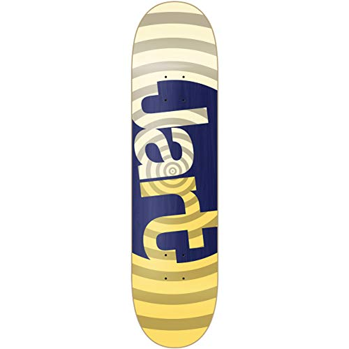 Jart Swell Yellow 8.0' LC, Skateboard Decks Unisex Adulto, Multicolore, Taglia Unica