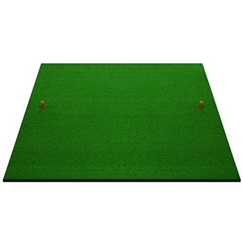 Alfombra de práctica para Golf Campo de práctica Práctica residencial de Golf Práctica residencial 3 'X3' Que golpea el Soporte para Alfombrilla, Base de Goma Antideslizante (Tamaño : 1cm Thick)