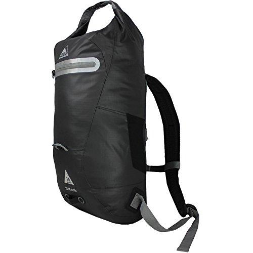 Cox Swain 20L Rucksack Brooklyn Ultralite - wasserdichter Outdoor Packsack für Fahrrad, Motorrad etc, Colour: Dark Grey/Black