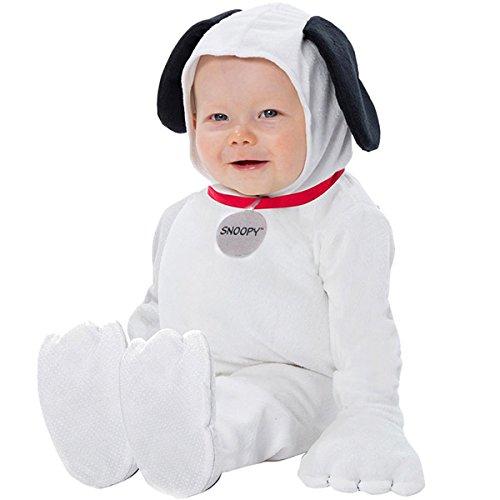 スヌーピー ピーナッツ スヌーピー 着ぐるみ ジャンプスーツ コスチューム 赤ちゃん 幼児 キャラクターグッズ ハロウィン 衣装 (0-9M(身長66cmまで,0-9ヵ月)) [並行輸入品]