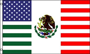 mexican american flag for sale